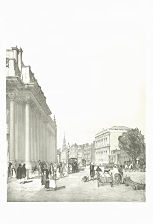 Board of Trade Whitehall &c from Downing: BOYS, Thomas Shotter.