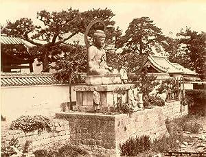 Bronze Image Shinkoji Hiog.: KUSAKABE, Kimbei (attributed