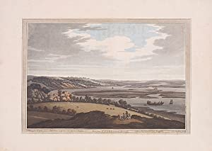 View from Upnor towards Sheerness.: FARRINGTON, J. and