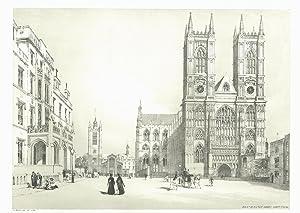 Westminster Abbey, Hospital &c.: BOYS, Thomas Shotter.