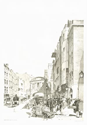 Temple Bar, From the Strand.: BOYS, Thomas Shotter