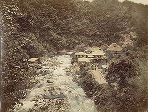 Tonosawa Hot Spring: KUSAKABE, Kimbei (attributed to)].