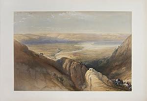 Ascent upon the Valley of Jordan: ROBERTS, David, HAGHE,