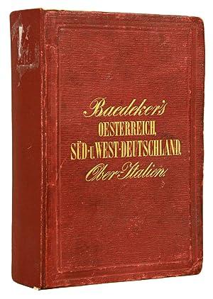 Deutschland nebst Theilen der angrenzenden Laender bis: BAEDEKER, Karl.