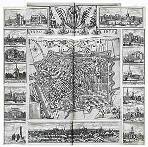 Composite Atlas of Leiden.: HAGEN, Christiaan, van