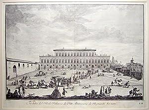 Veduta del Reale Palazzo de Pitti Abitazione: ZOCCHI, Giuseppe.