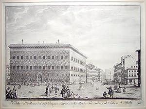 Veduta del Palazzo del Sigre. Principe Strozzi,: ZOCCHI, Giuseppe.