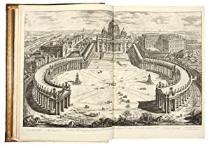 Vedute di Roma. [Bound with] PIRANESI, Francesco.: PIRANESI, Giovanni Battista.