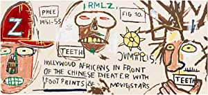 Hollywood Africans in front of the Chinese: Basquiat, Jean-Michel