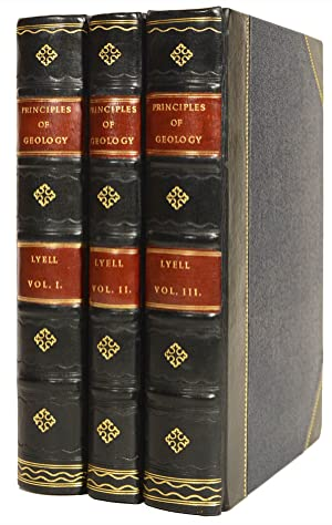 Principles of Geology, being an attempt to: LYELL, Charles.