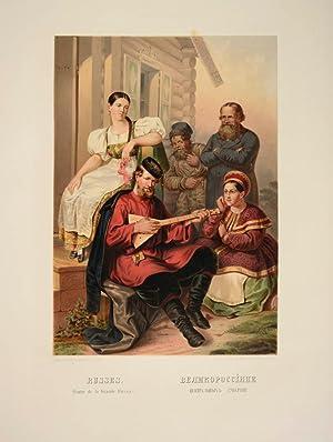 Description ethnographique des peuples de la Russie.: PAULY, Theodore de.