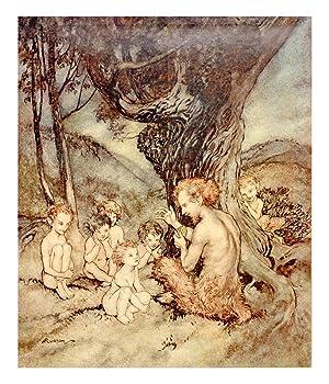 The Springtide of Life. Poems of Childhood: RACKHAM, Arthur [Illustrator];