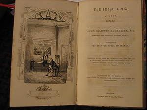 The Irish Lion. A Farce, in One: BUCKSTONE John Baldwin