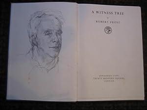 A Witness Tree: FROST Robert