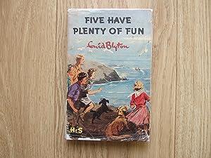 Five Have Plenty of Fun: Blyton Enid