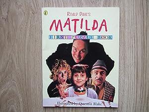 Roald Dahl's Matilda First Puzzle Book: Dahl, Roald