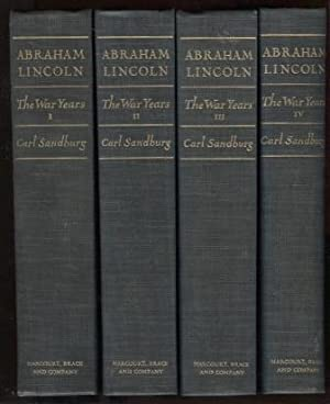 Abraham Lincoln: The War Years. (Complete in 4 volumes)
