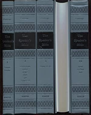 The Speaker's Bible 18 Volume Set