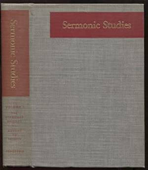 Sermonic Studies, the Standard Epistles: Volume 1 - From the First Sunday in Advent to Trinity Su...