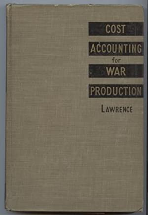 Cost Accounting for War Production