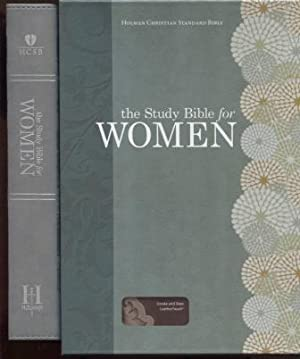 The Study Bible for Women, Smoke/Slate Leathertouch