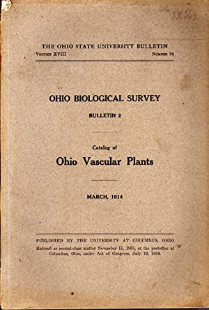 Catalog of Ohio vascular plants. In 8í, bross., pp. 121