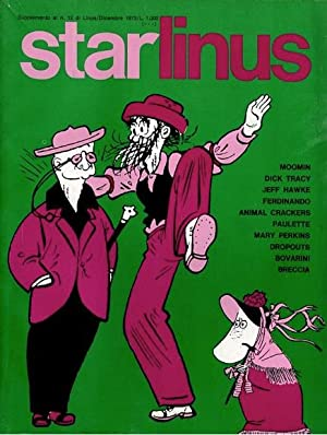 Starlinus, Supplemento al n. 12 di Linus, dicembre 1973. In 4to, broch. ills. col., pp. 128 con i...