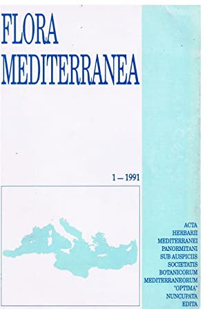 Flora Mediterranea 1. In 8vo, broch., pp. 245. Journal published by Herbarium Mediterraneum Panor...