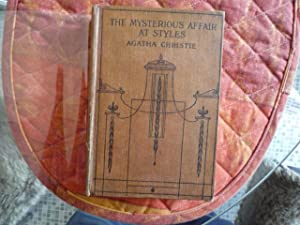 The Mysterious Affair At Styles (with signed: CHRISTIE, Agatha