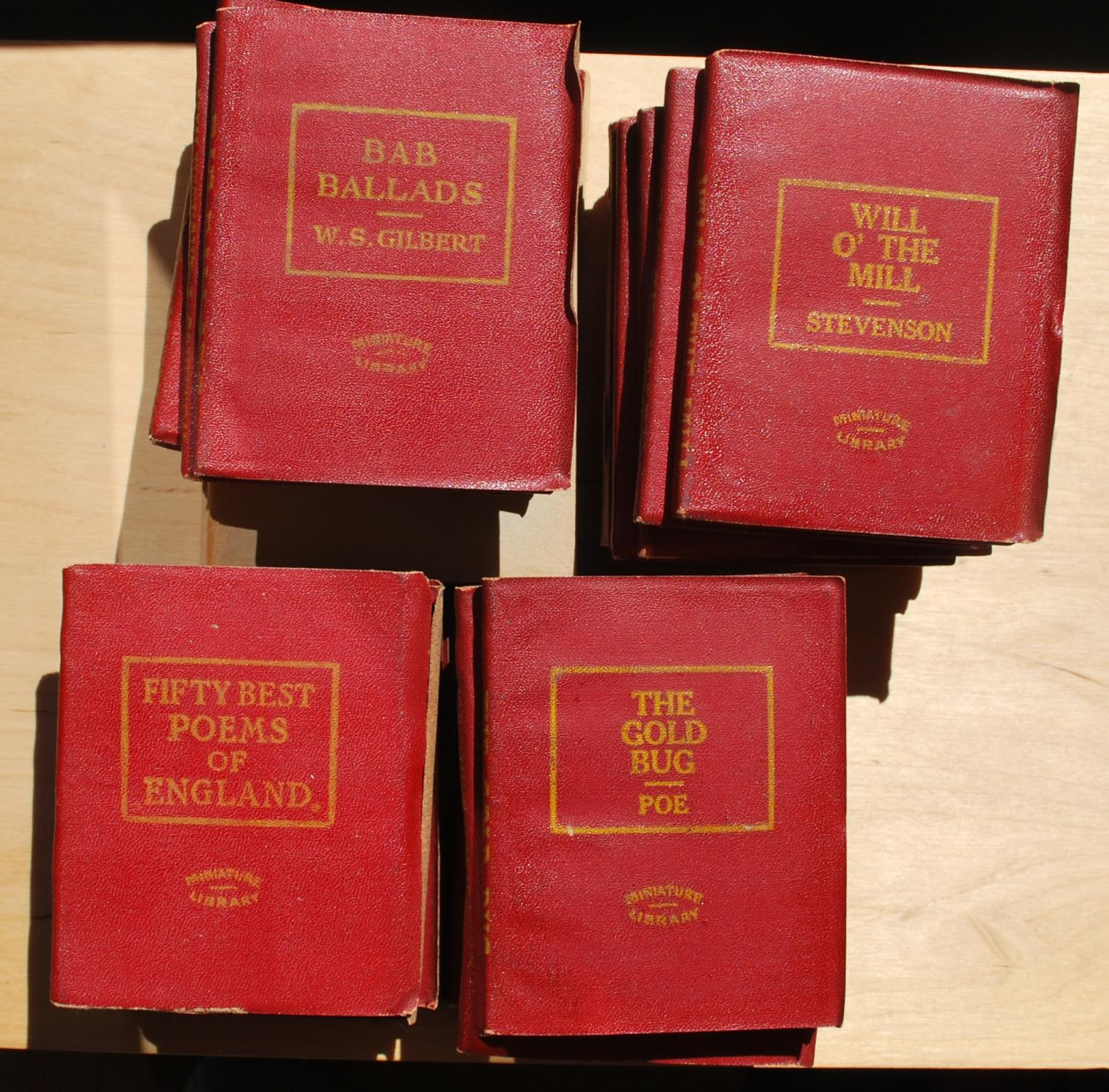 Set of 27 volumes Misc. Near Fine Softcover