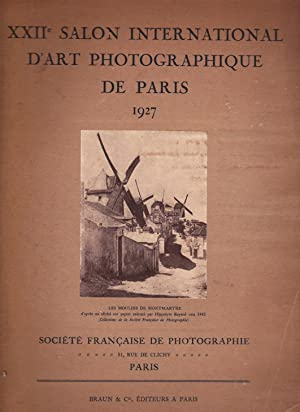 XXIIe Salon International d'art photographique de Paris 1927