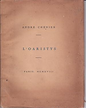 L'oaristys: André Chénier