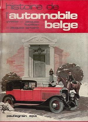 Histoire de l'automobile belge: Yvette et Jacques