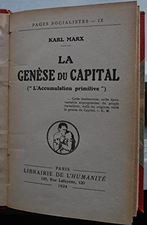La genèse du capital