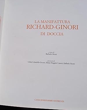 La Manifattura Richard-Ginori di Doccia.: Ed. Raffaele Monti