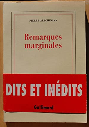 Remarques marginales: Pierre Alechinsky