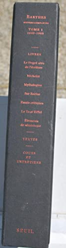Oeuvres complètes. Tome 1 1942-1965