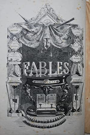 Album de 120 sujets tirés des Fables: Grandville