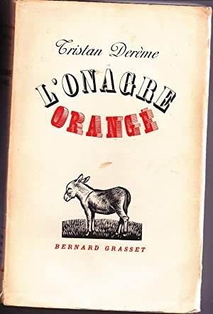 L'onagre orange