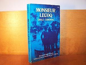 Monsieur Lecoq: Gaboriau, Emile; Bleiler,