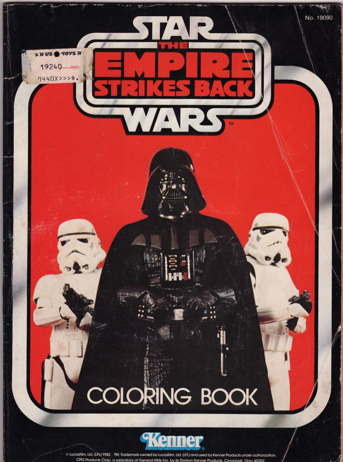 empire strikes back coloring pages - photo#31