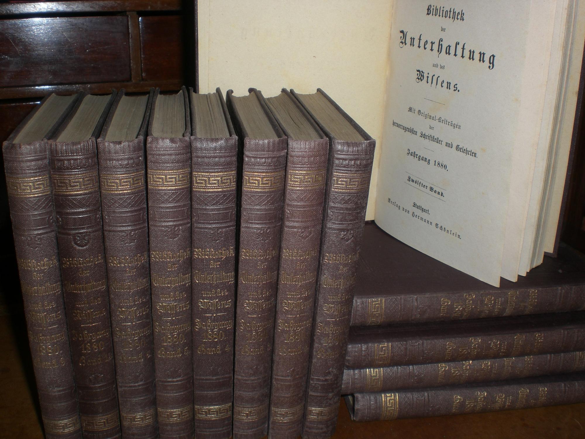 bibliothek der unterhaltung und des wissens 1880 hermann. Black Bedroom Furniture Sets. Home Design Ideas