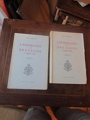 L'INTENDANCE DE LA BRETAGNE ( 1689-1790 ): HENRI FREVILLE