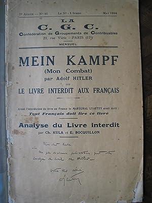 Mein Kampf par Adolf Hitler ou le: Kula et Bocquillon