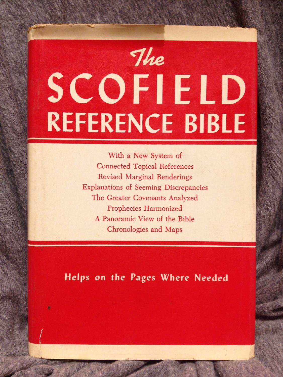 The scofield reference bible the holy bible containing the old and the scofield reference bible the holy bible containing the old and new testaments authorized ccuart Images