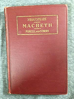 MacBeth: With Introduction, Notes, and Questions for: Shakespeare, William, Purcell,