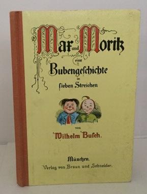 Max Und Moritz Eine Bubengeschichte in Lieben: Busch, Wilhelm