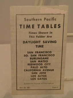 Southern Pacific Time Tables (daylight Saving Time): Ephemera [Southern Pacific