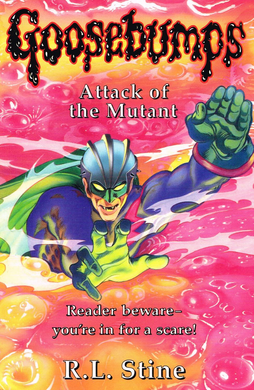 Goosebumps Attack Of The Mutant Volume 23 Da R L