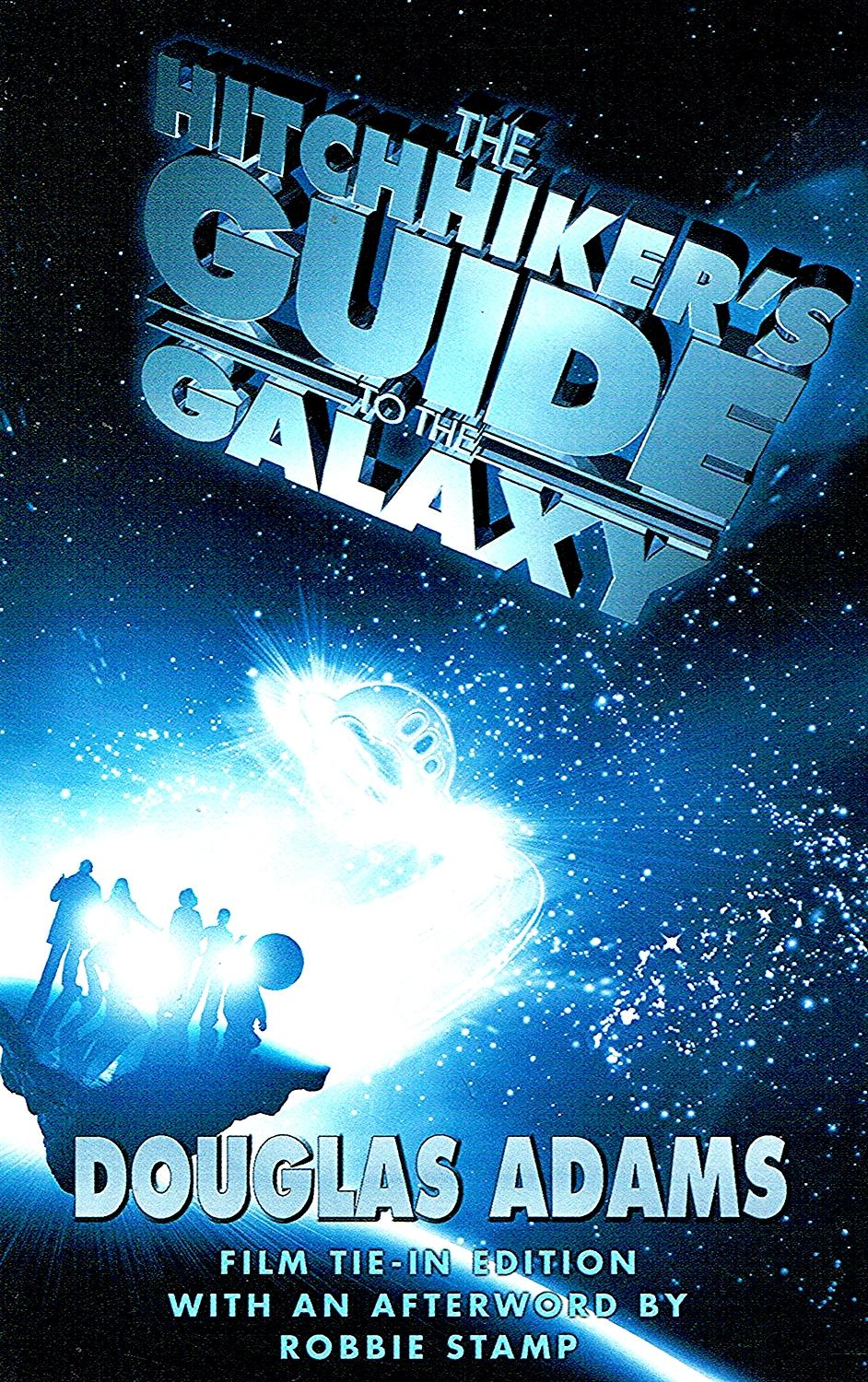 The hitchhiker's guide to the galaxy the book.
